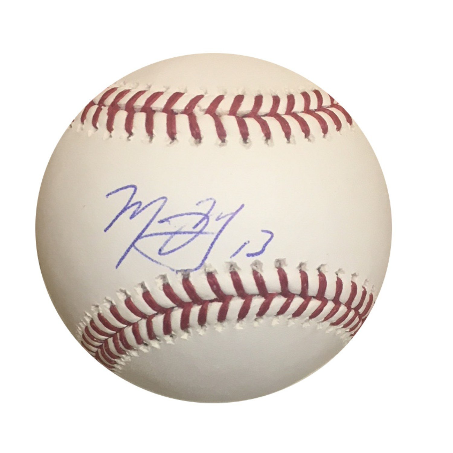 Manny Machado Los Angeles Dodgers Baltimore Orioles Autographed MLB Authentic Signed Baseball PSA DNA COA Powers Collectibles