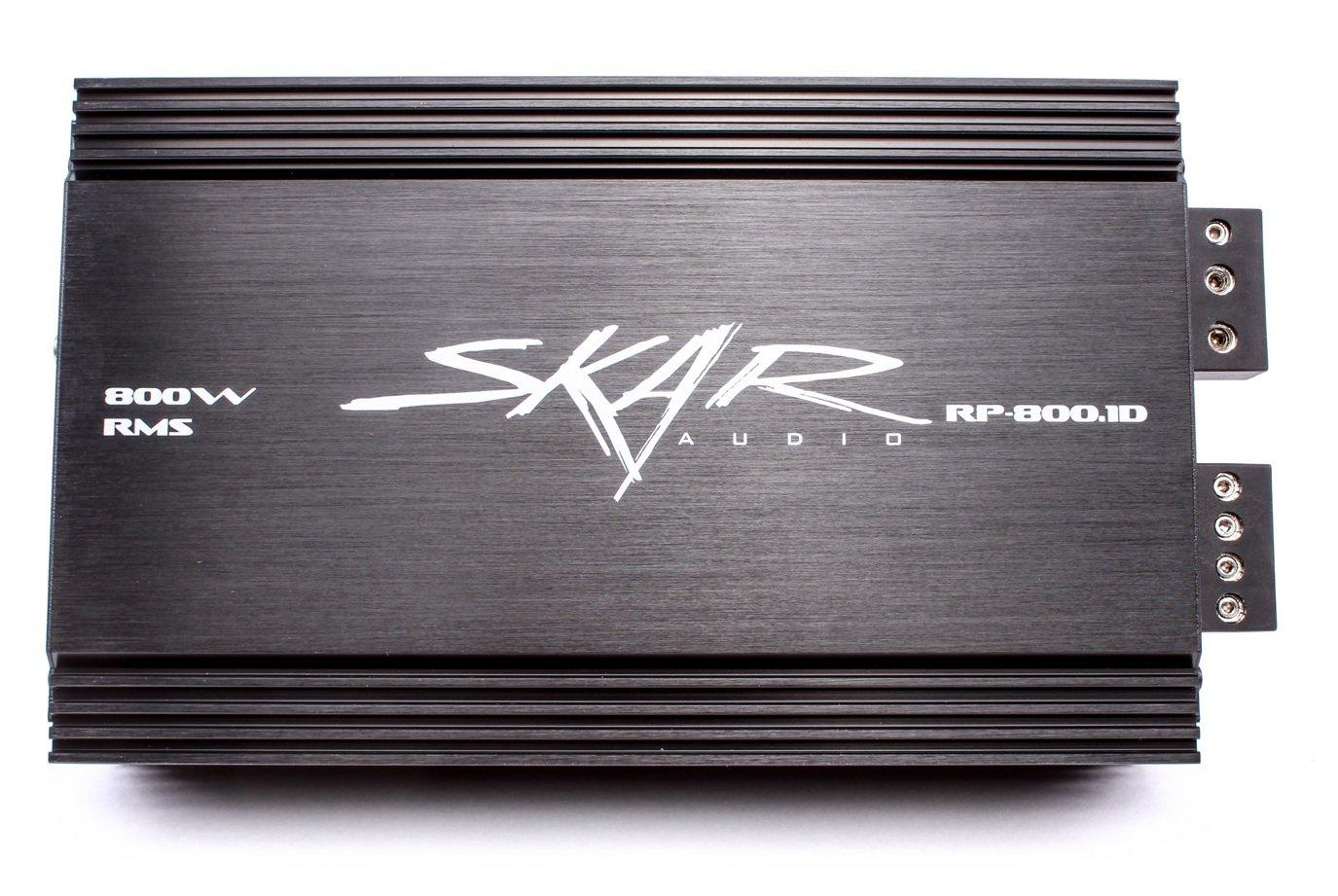 Amazon.com: Skar Audio RP-800.1D Monoblock Class D MOSET Amplifier ...