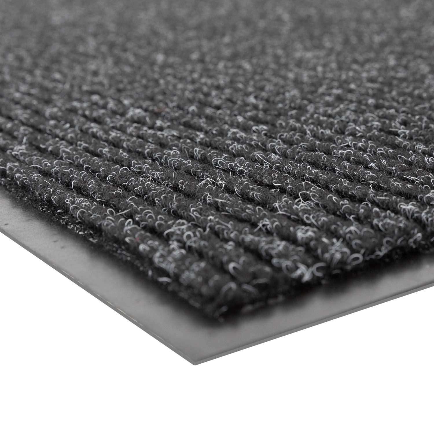 Notrax 109S0023CH 109 Brush Step Entrance Mat, For Home or Office, 2' X 3' Charcoal
