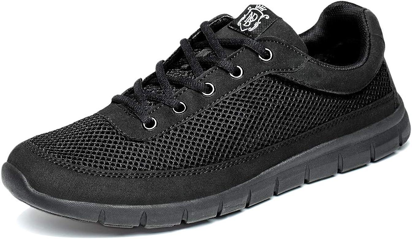 NDB - Zapatillas deportivas ligeras para hombre, color Negro, talla 39 EU: Amazon.es: Zapatos y complementos