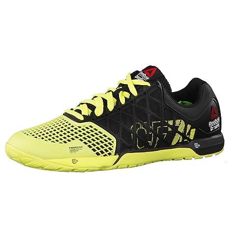 Reebok Zapatillas Deportivas R Crossfit Nano 4.0 Negro/Amarillo EU 48.5: Amazon.es: Zapatos y complementos