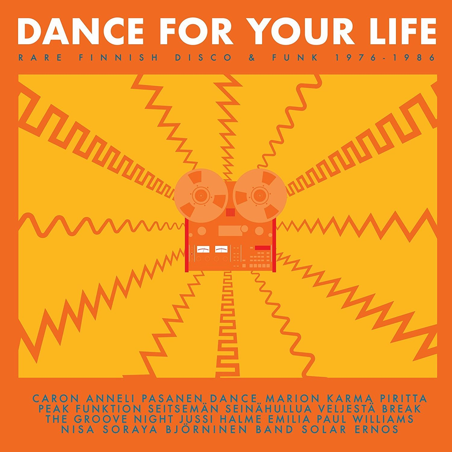 Vinilo : Various Artists - Dance For Your Life - Rare Finnish Funk & Disco 1976-1986 (2PC)