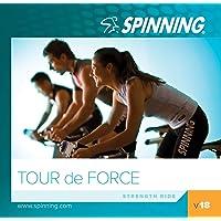 Spinning® Übung Musik CD Volume 18-Tour De Force blau, 46