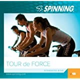 Spinning® Volume 18-Tour De Force Übung Musik-Cd, Blau-Blau, 46