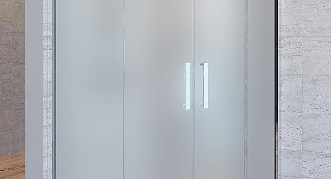 Olimpo duchas Box ducha Atena mate 80 x 80 6 mm H195 anti cal: Amazon.es: Bricolaje y herramientas