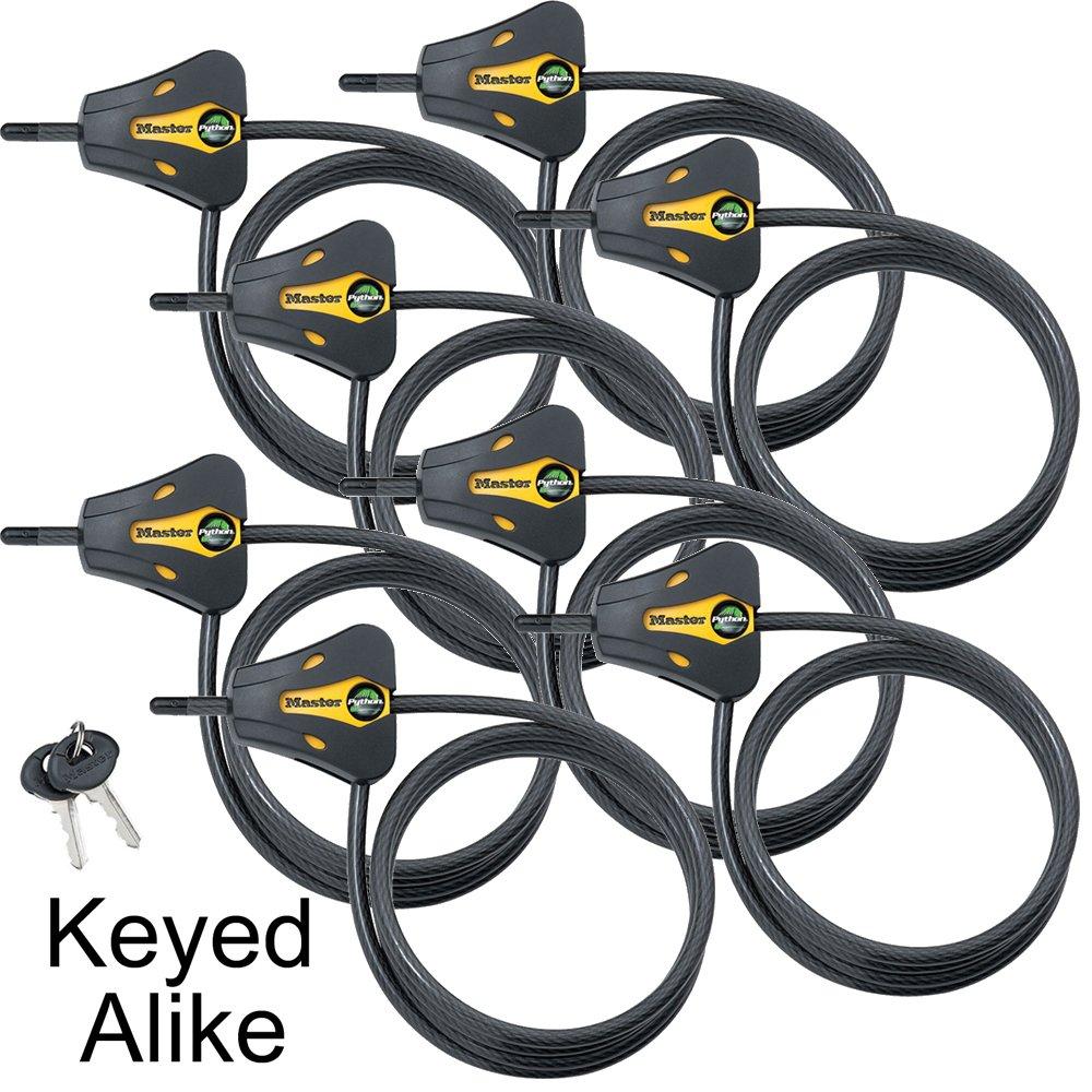 Master Lock Trail Camera Python Adjustable Cable Locks 8419KA-8