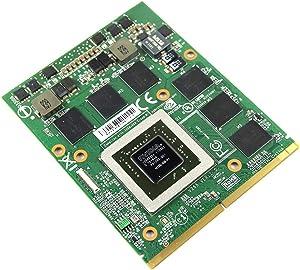 1.5GB Graphics Video Card GPU Replacement for Alienware Gaming Laptop M15X R1 R2 M17X R1 R2 R3 M18X R1, NVIDIA GeForce GTX 560M N12E-GS-A1 GDDR5, Original MXM 3.0B VGA Board Repair Parts