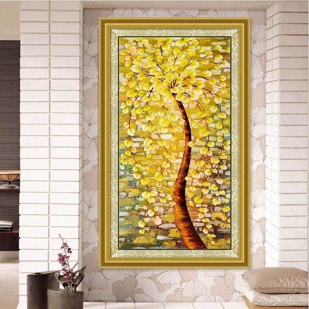 AmyGline DIY 5D Diamant Painting Wandmalerei Crystal Strass Stickerei Bilder Kunst Handwerk f/ür Home Wall Decor Voller Bohrer 45x80cm
