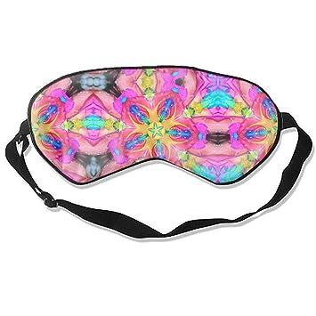 90649d996bed0 Amazon.com : Abstract Kaleidoscope Digital Art Colors Sleeping Eye ...