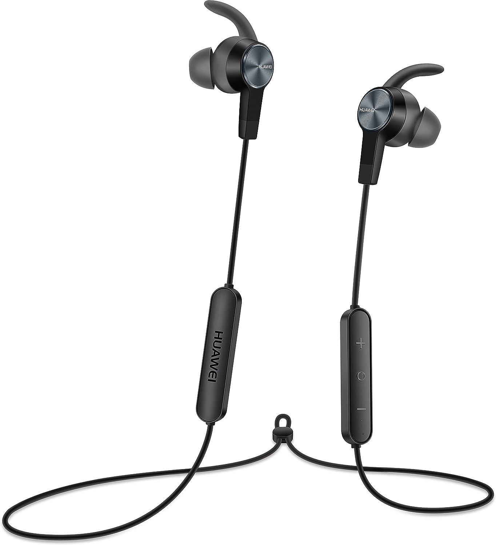 Huawei 6369A-AM61 - Auricular estereo deportivo con Bluetooth, color negro