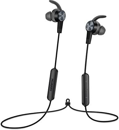 Original Huawei AM61 Sport Bluetooth Wireless Headphones Lite - Magnetic Absorption - Bass Surging (Black