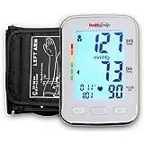 Healthgenie BPM04BL Digital Upper Arm Blood Pressure Monitor (White)