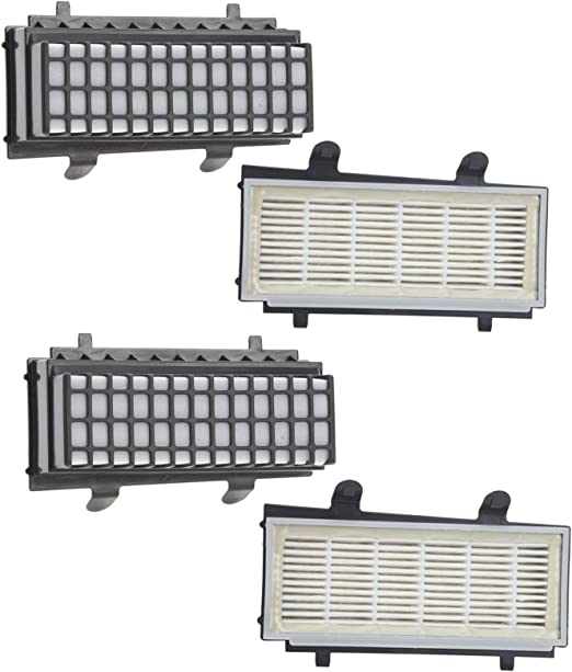 Spares2go - Filtro para aspiradora Bosch BGS5 Series (4 unidades ...