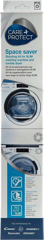 Kit de apilamiento para lavadoras y secadoras estrechas (40-46 cm)