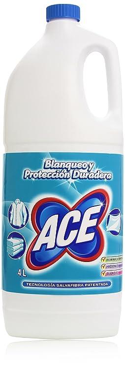 ACE lejía (ropa y hogar) 4 litros: Amazon.es: Alimentación y bebidas