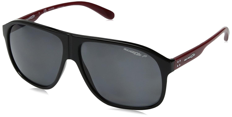 Arnette メンズ 4243 US サイズ: 59 mm カラー: ブラック   B079G58RMY