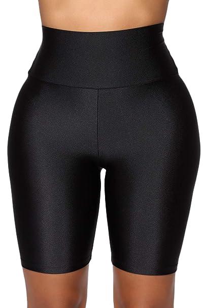 Amazon.com: Leggings de mujer para yoga, pantalones cortos ...