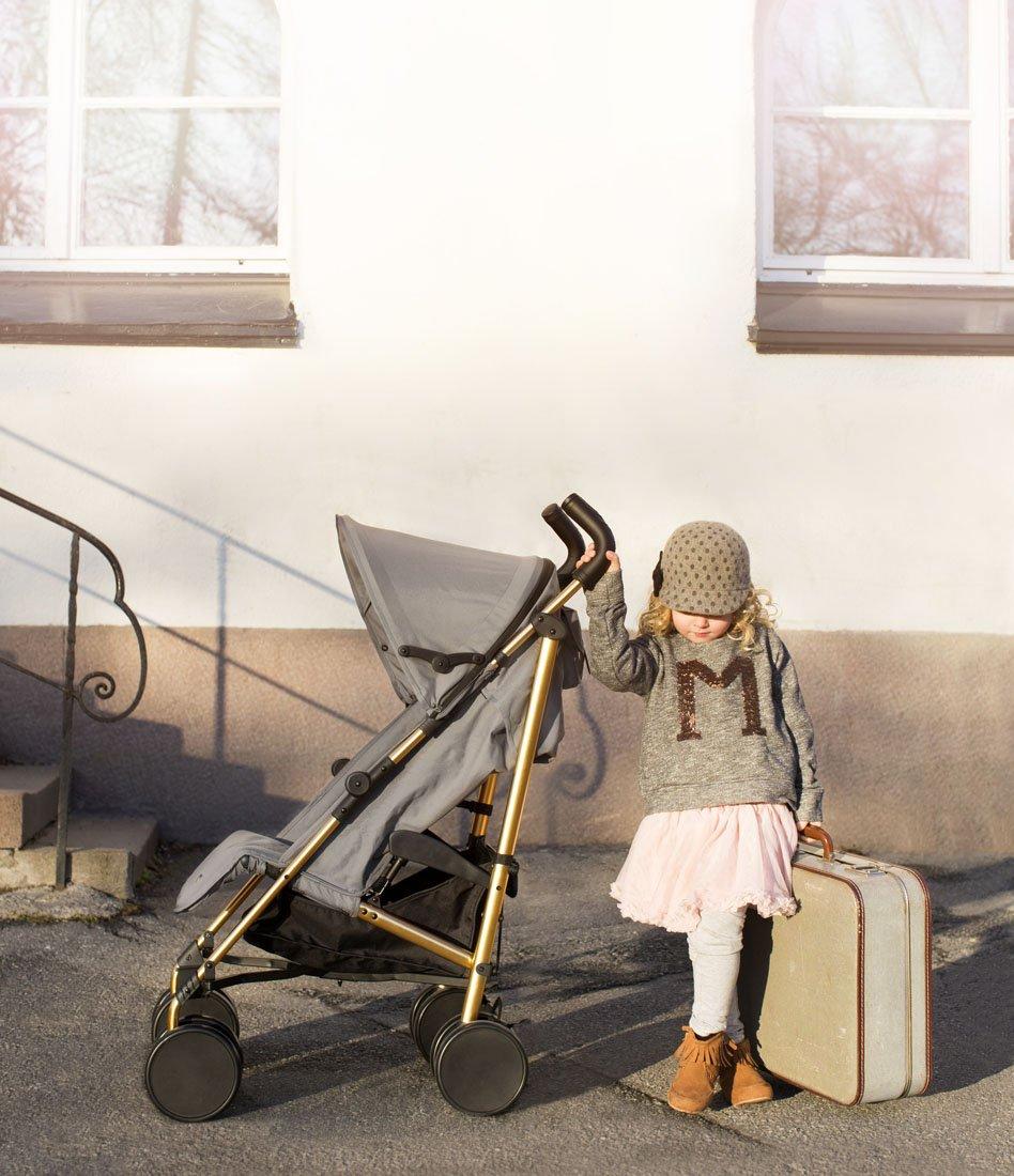 Elodie Details Poussette Stockholm Stroller Gris Dor/é