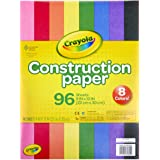 Crayola 96 Ct Construction Paper, Assorted Colors