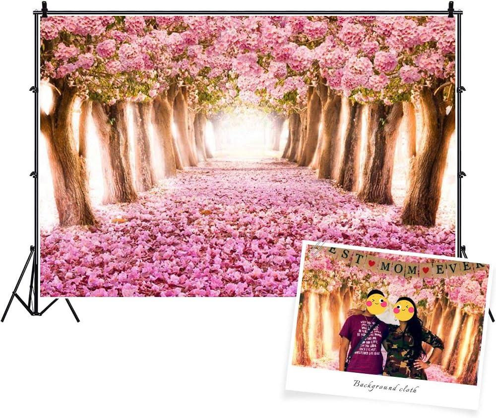 6x4ft,chy117 TCReal Flower Background Photography Studio Flower Sea Scene Baby Birthday Romantic Dream Wedding Photography Background
