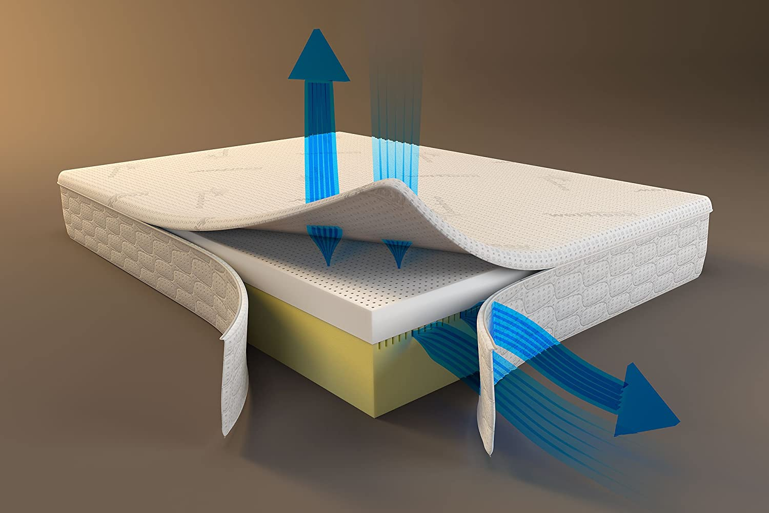 Snuggle-Pedic Mattress That Breathes – Patented Airflow Transfer System