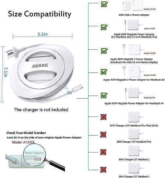 Amazon.com: SWARK - Cable de carga compatible con cargador ...