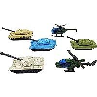 YIJIAOYUN 6 Modelos de vehículos Militares de aleación