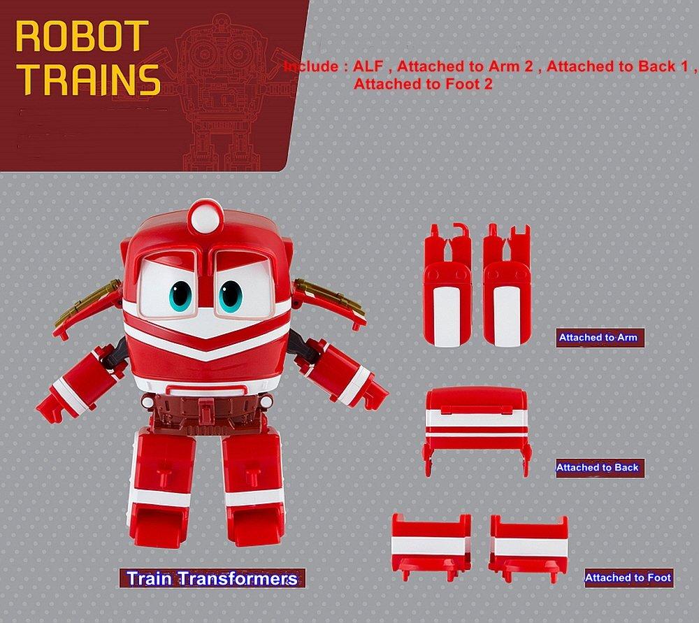 "ALF charactersanimationun jouet enfant enfants animation korean robot transformer train robot caract/ère train/"""