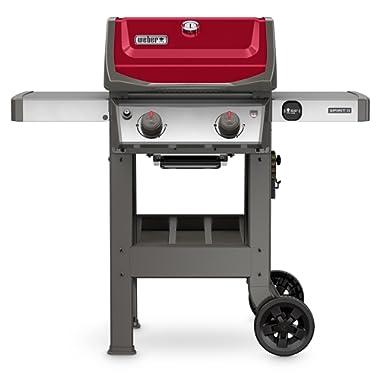 Weber 44030001 Spirit II E-210 Red LP Outdoor Gas Grill