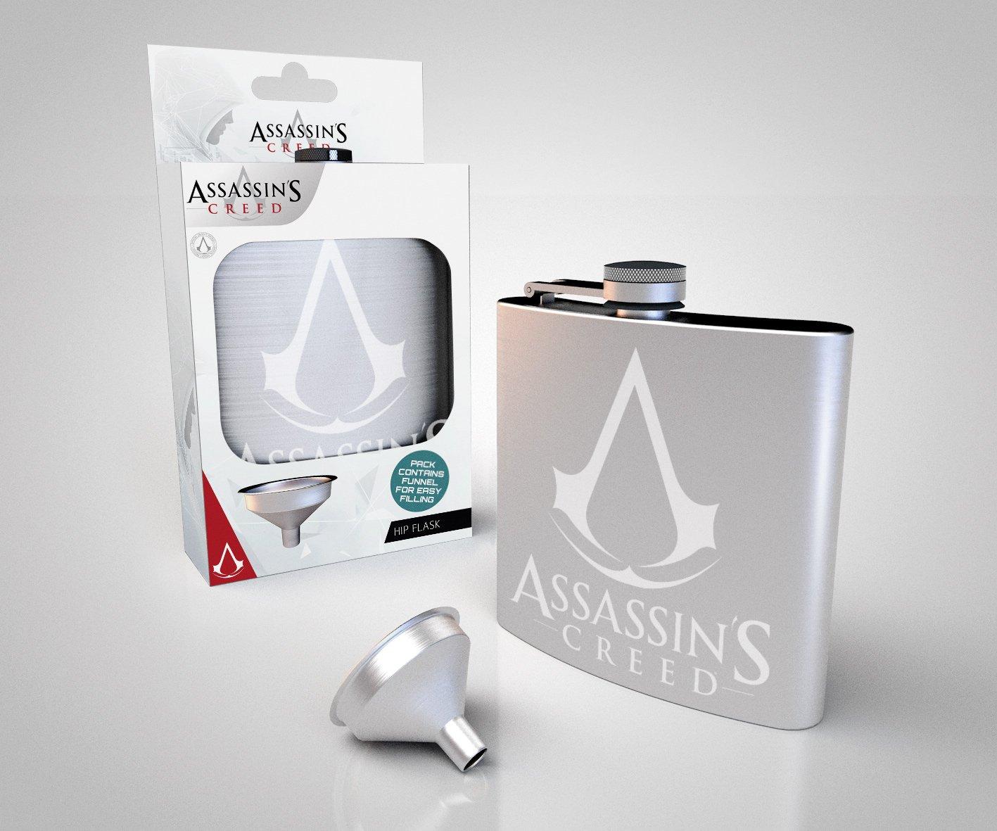 Logo Hip Flask GB Eye LTD Assassins Creed