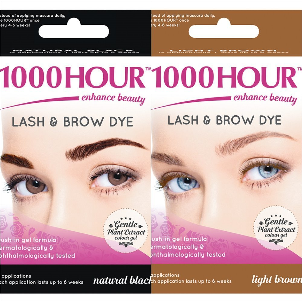 Amazon 1000 Hour Eyelash Brow Dye Kit Permanent Mascara