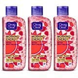 Clean & Clear Morning Energy Berry Blast, Red, 100 ml (Pack of 3)