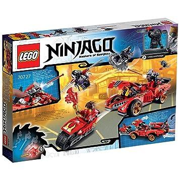 Lego Ninjago - Deportivo Ninja X-1, Juego de construcción (70727)