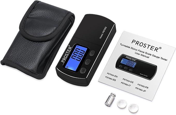 Calibrador digital de agujas para tocadiscos y platos, calibrador ...