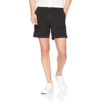 "Brand - Goodthreads Men's 7"" Inseam Flat-Front Comfort Stretch Chino Short: Clothing"