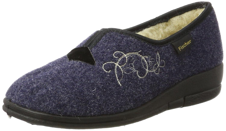 Fischer Dora, Pantofole Donna Blu Blu Blu (Blau 555) f985a2