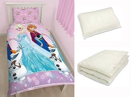 4 In 1 Childrens Bed Bundle For Junior Toddler Cot Single Duvet Bed Set  Kids Bedding