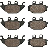 BikeMaster Standard Front or Rear Brake Pads for Can-Am DS 250 2006-2016