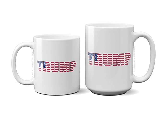 Amazon Trump Flag Coffee Tea MugBirthday Gift For MenWomen