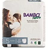 Bambo Nature Premium Training Pants, Size 5, 20 Count