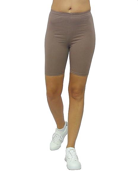 retro gemütlich frisch outlet Damen Shorts Kurze Leggings Hotpants Sport Baumwolle