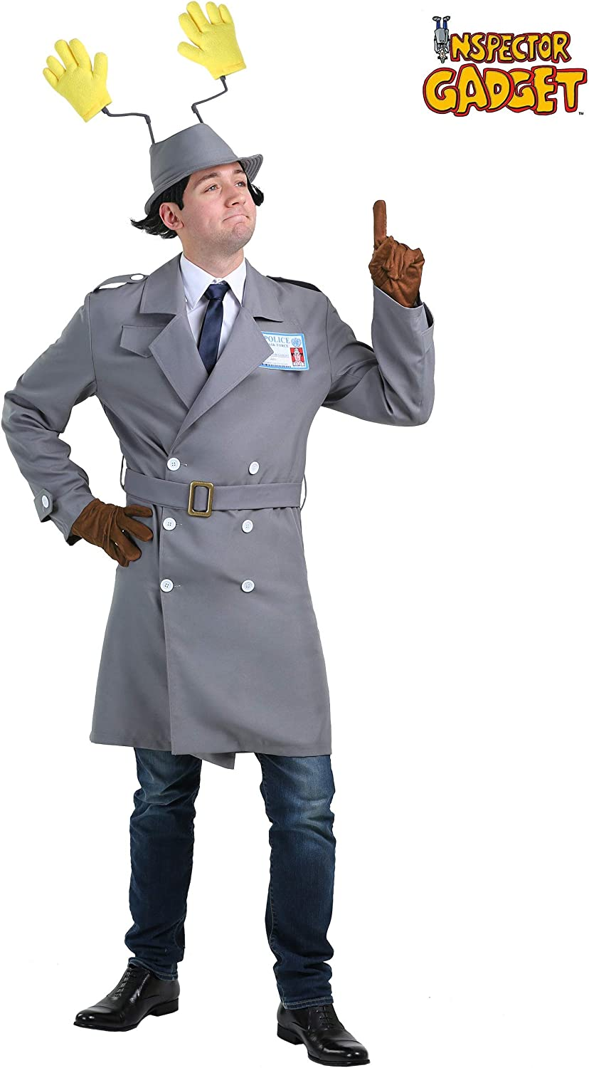 Inspector Gadget Mens Fancy dress costume Medium: Amazon.es: Ropa ...