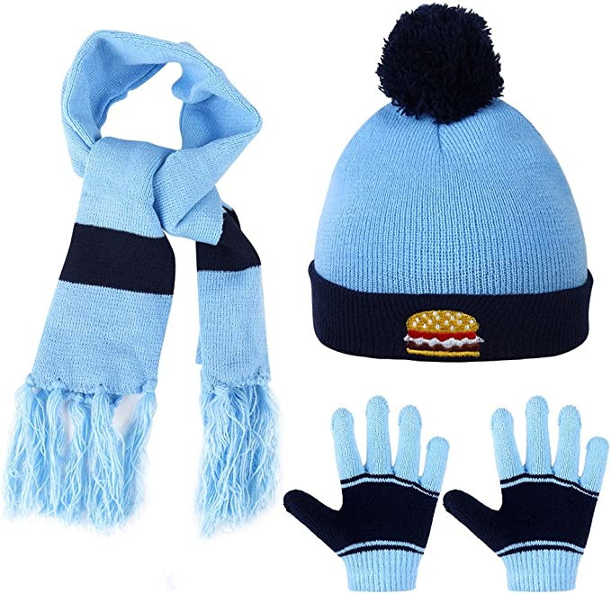 Polar Extreme Boys 2 Piece Hat//Glove Set