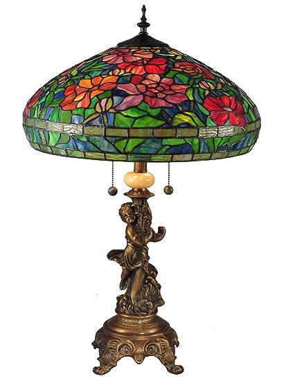3f06dc14d264 Dale Tiffany TT15101 Rosemead Table Lamp 27.5