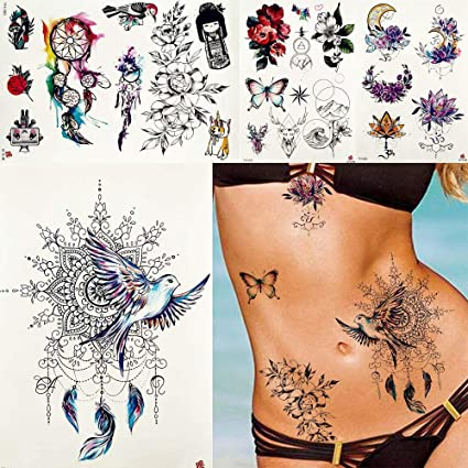 MRKAL Mujeres Atrapasueños Paz Paloma Pájaros Tatuajes Temporal ...