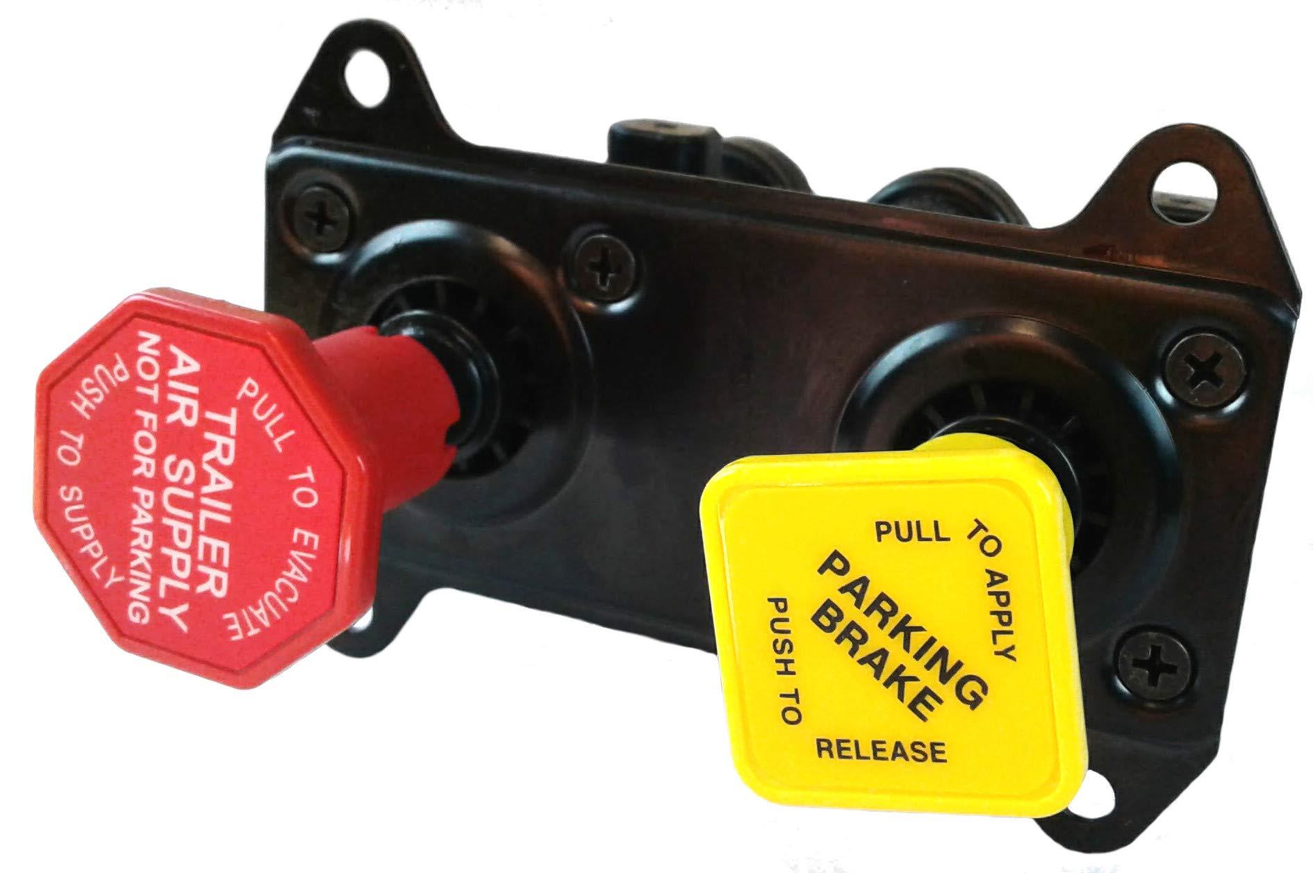 Peterbilt/International Hand Operated Trailer Parking Brake Control Manifold