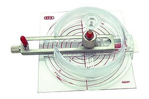 NT CUTTER Circle Cutter, 11/16 inch to 6-11/16 inch Diameter (C-1500)