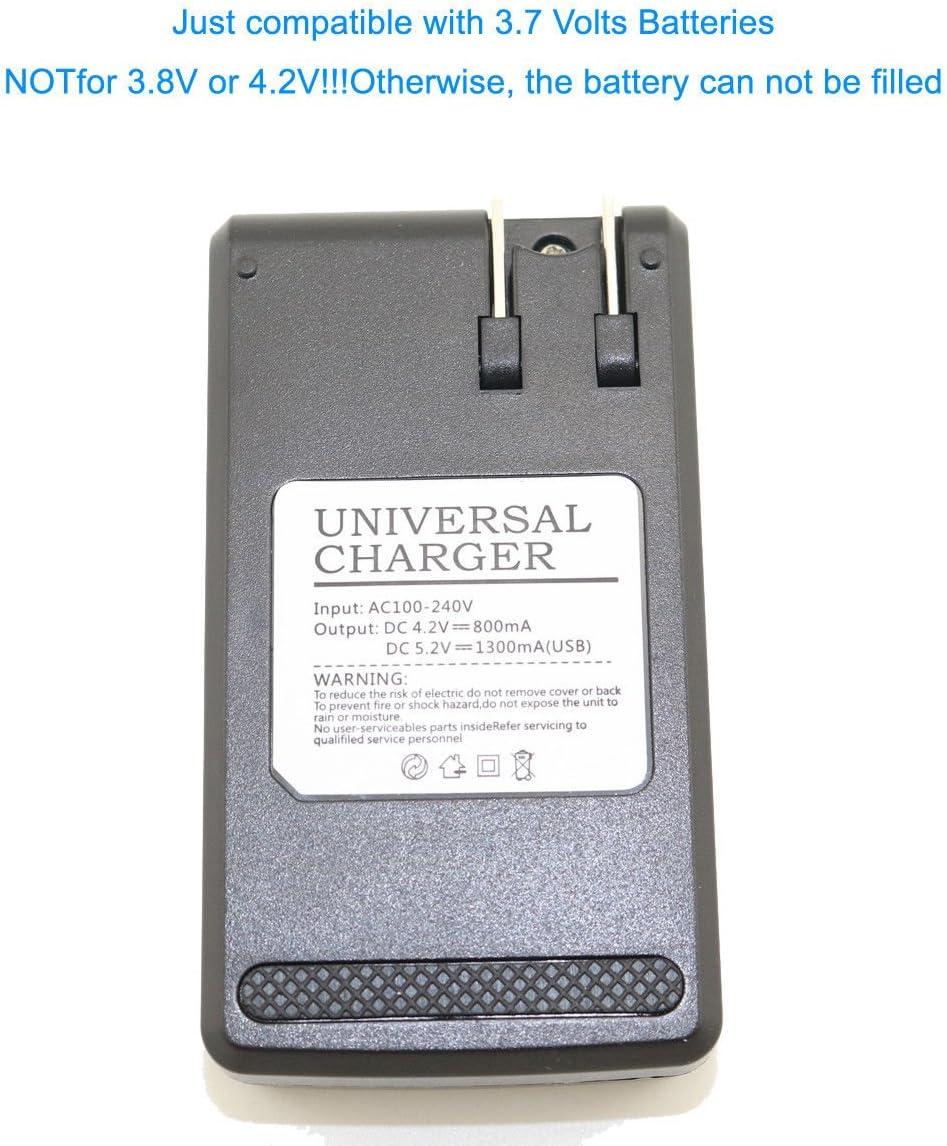 Battery Charger for Samsung AB463446FZ SCH-U740 AB46365UGZ Intensity II 2 U460