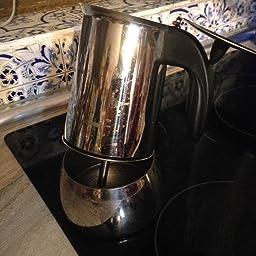 Valira | Isabella | Cafetera apta para inducción | 6 tazas, Acero 18/10: Amazon.es: Hogar