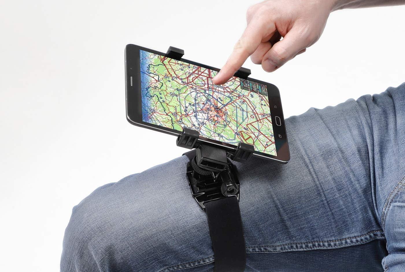 Pilot Kneeboard for Smartphones, Mini Tablets, iPhone, iPad Mini, Android